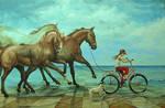 En la Playa _ Chelin Sanjuan