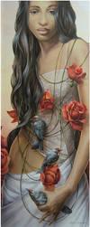 Rosa  - Chelin Sanjuan by aaamelie
