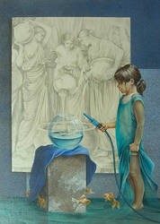 Aguadoras - Chelin Sanjuan by aaamelie