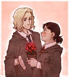 Genderswapped Valentine's by maaria