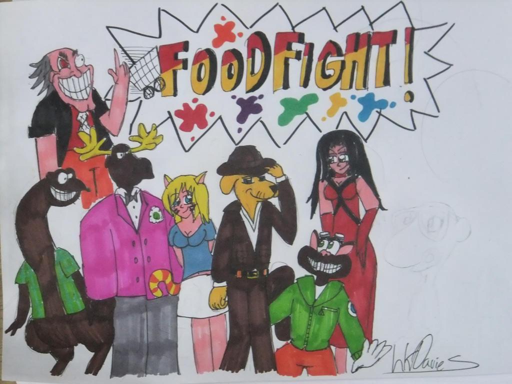 Pubg By Sodano On Deviantart: Foodfight! By LewisDaviesPictures On DeviantArt