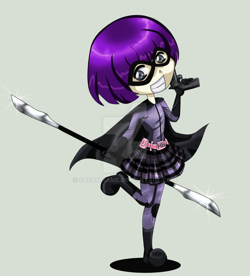 Hit Girl by SarahMame