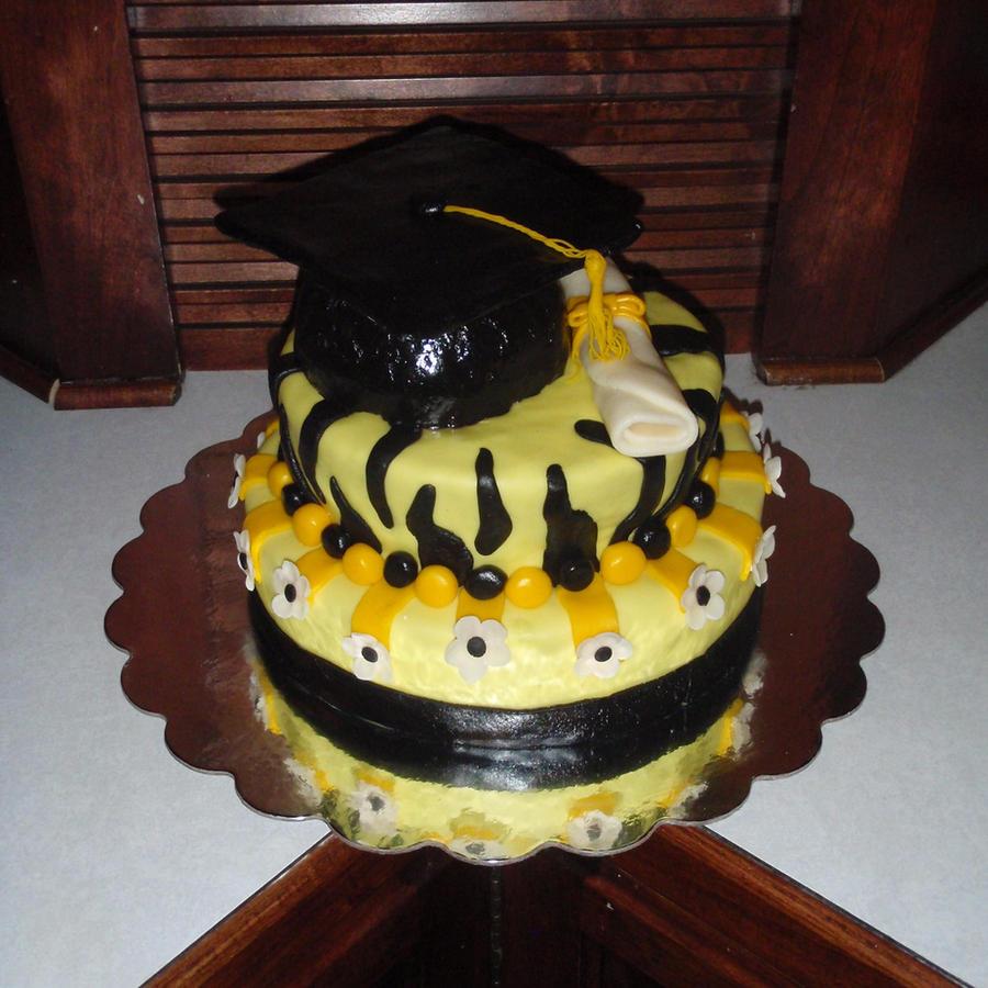 VCU Graduation Cake by SarahMame on DeviantArt