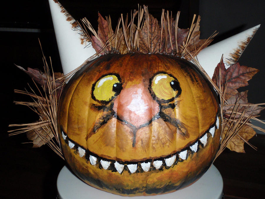 Where the Wild Things Are Pumpkin by SarahMame