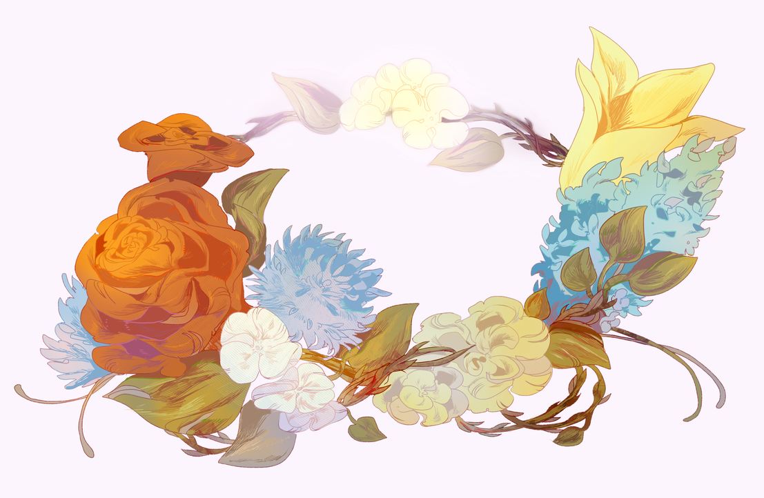 Blooming Flower Crown By Catne On Deviantart