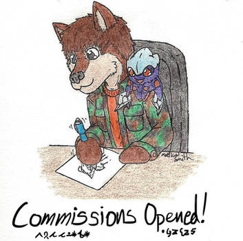 Commission are Opened! by ShadowEclipex
