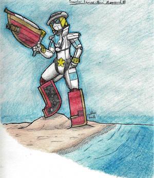Equine-Navy Megazord