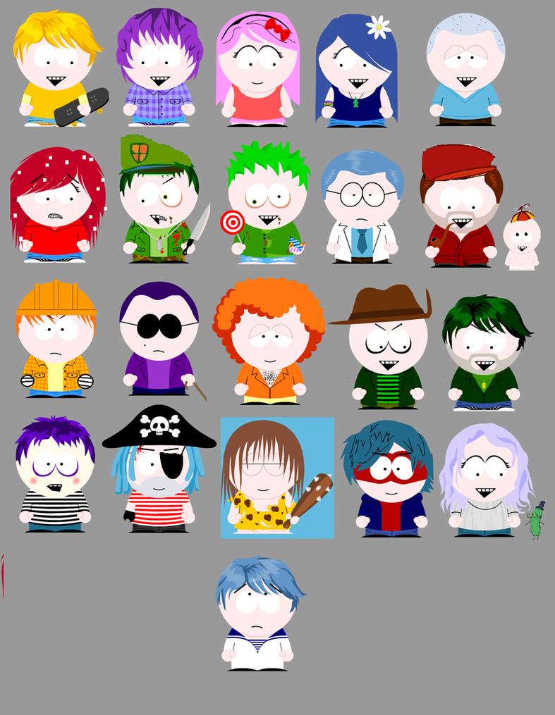 HTF South Park V.2 by luiskill1998