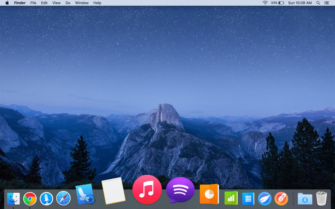OSX El Capitan Updated Icons by munakib