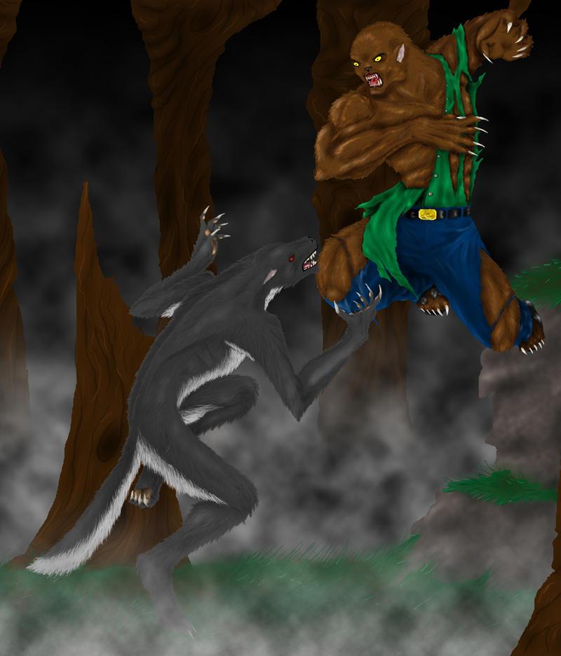 Werewolf VS Wolfman by Ec87 on DeviantArt