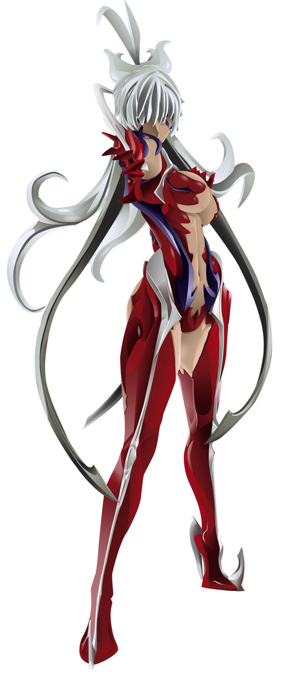 witchblade anime by ec87 on deviantart