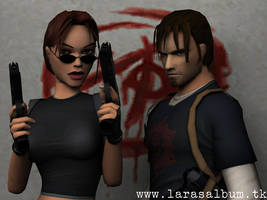 Lara and Kurtis 2 by that-damn-ash-kid