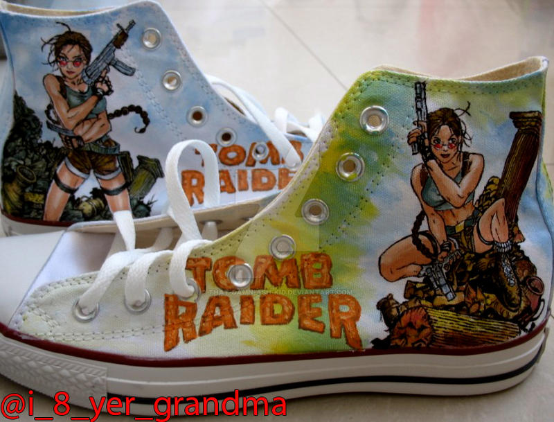 Lara Croft shoes by that-damn-ash-kid