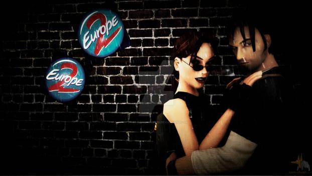 Lara Croft and Kurtis Trent