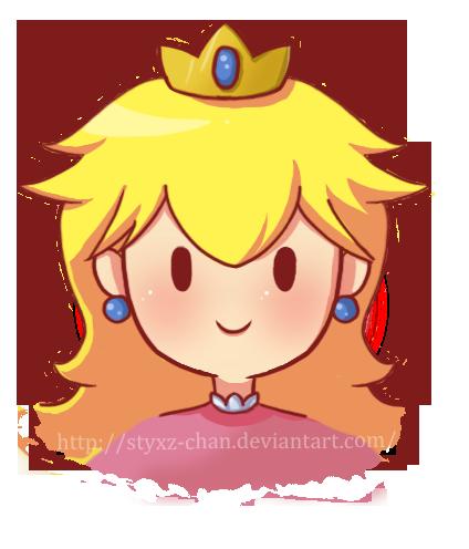 Princess peach poker face