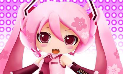 Sakura Miku by ChuChu-jellie