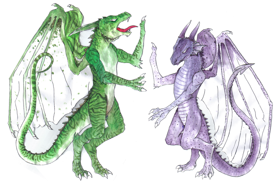 Coat of arms dragons by BaY-lee on DeviantArt