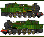 DW Steam Train-- Mummy on the Orient Express
