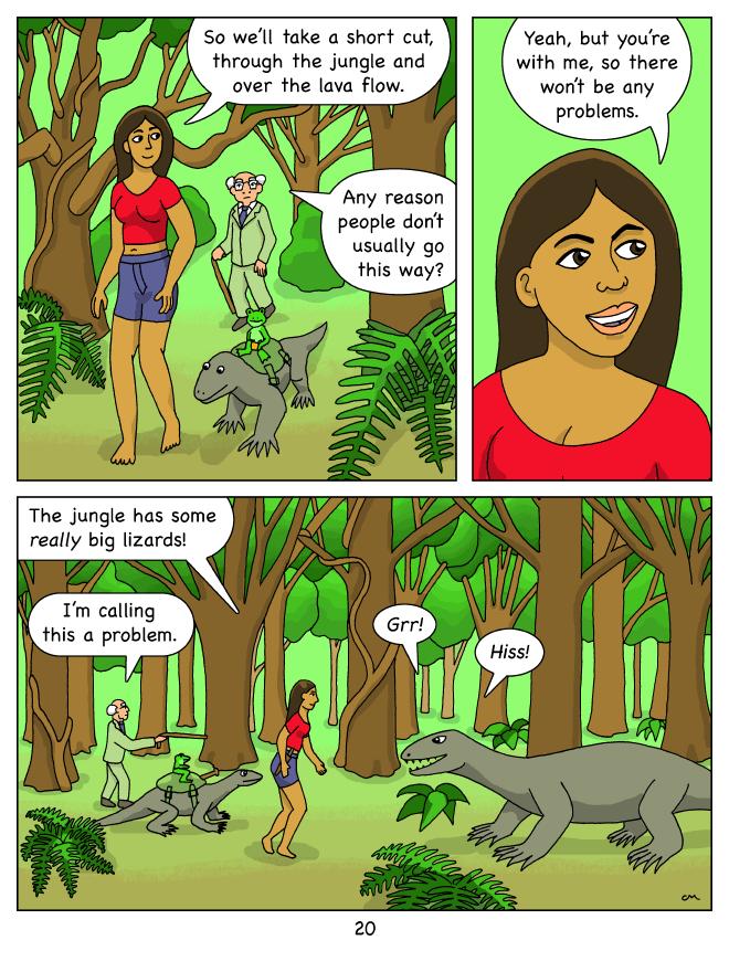 Molly Blue 20, the jungle