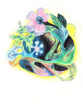Womb of flowers