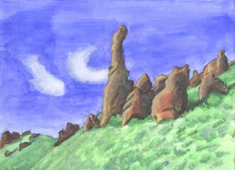Iron Bog Rocks