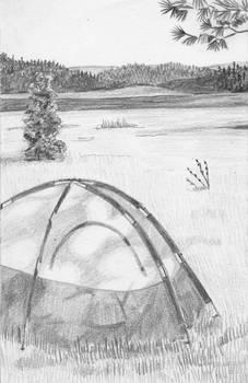 Lake Pillbury Campsite