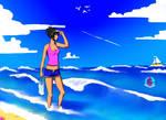 Summer by Basykail