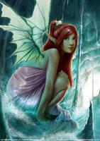 deception: water Fairy by rudy-sumarso
