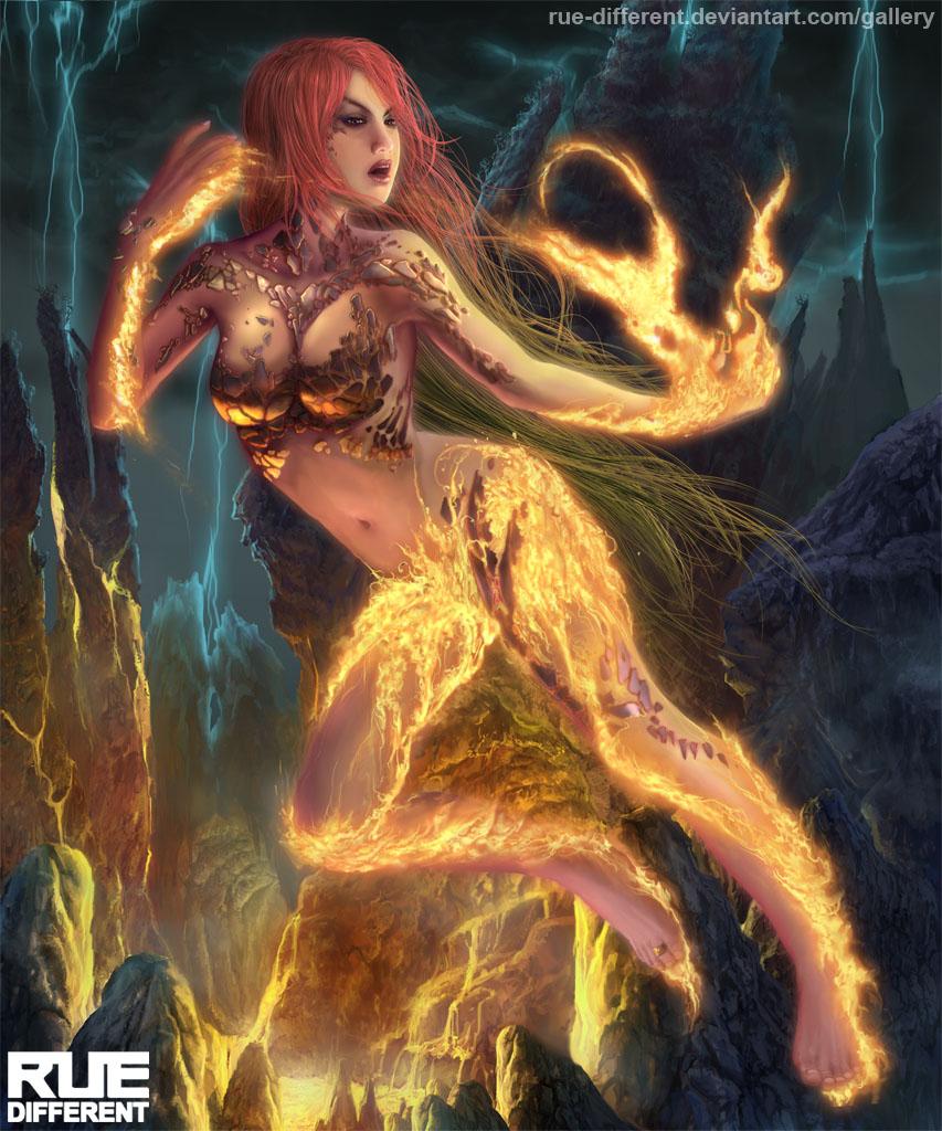 deception: fire Fairy