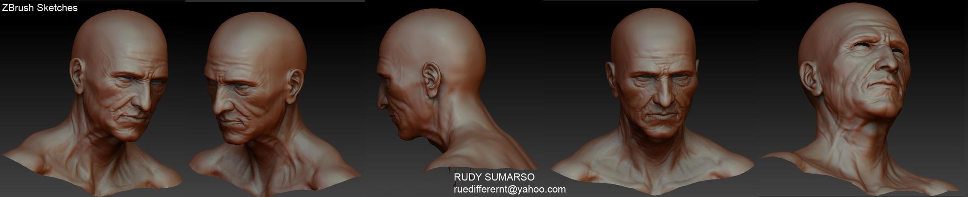 oldman_sculpt by rue-different