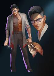 Doctor Klad Heims (Villain) by rudy-sumarso