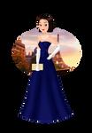 Ratatouille's Colette in Disney Princess Style by valloria