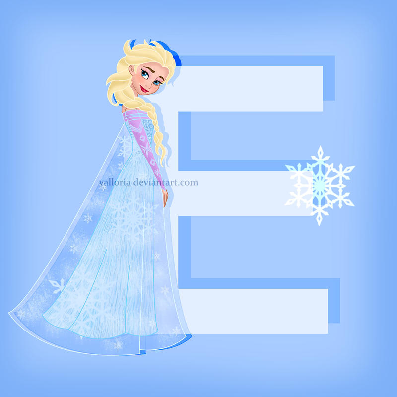 E for Elsa by valloria