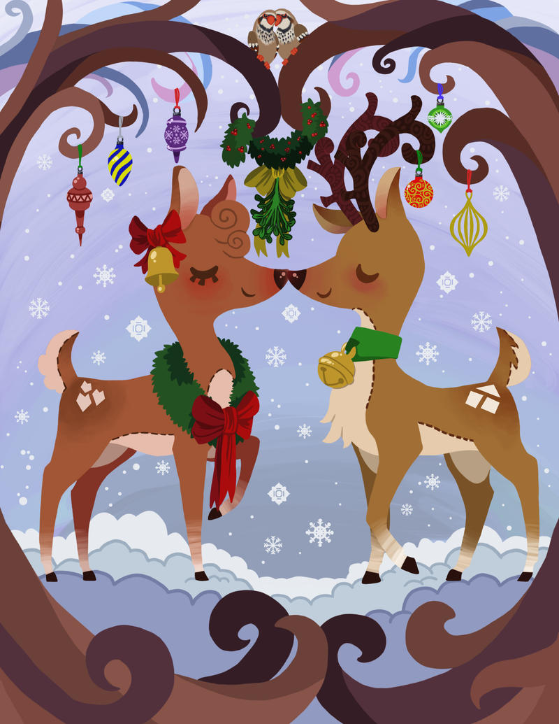 Christmas Kisses by Sora-na