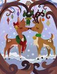 Christmas Kisses by Sora-na