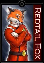 Badge 2009: Redtail Fox by TidalNight