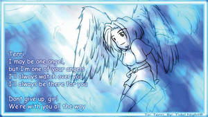 Jus one angel