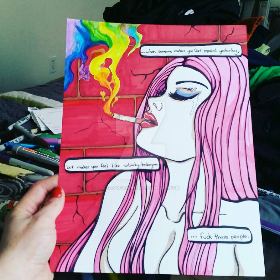 Broken Heartstring by StrangeSpiral