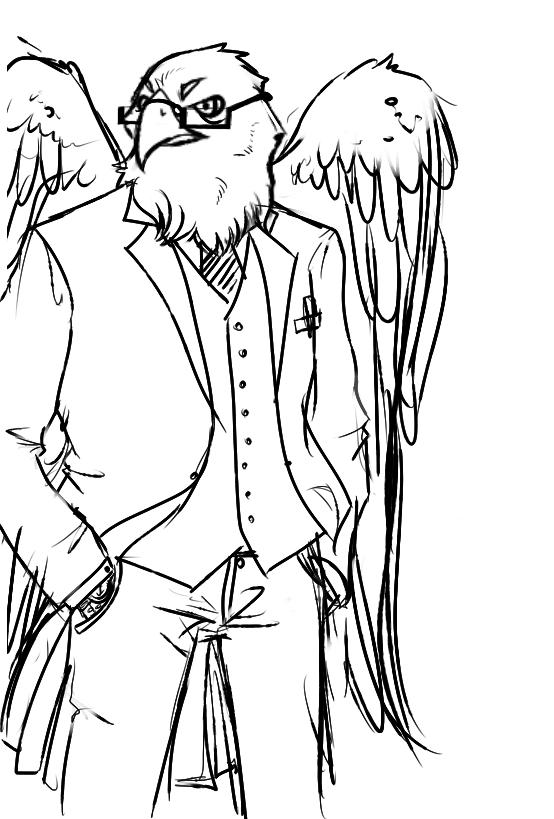 elsmith the eagle by gamakichisora