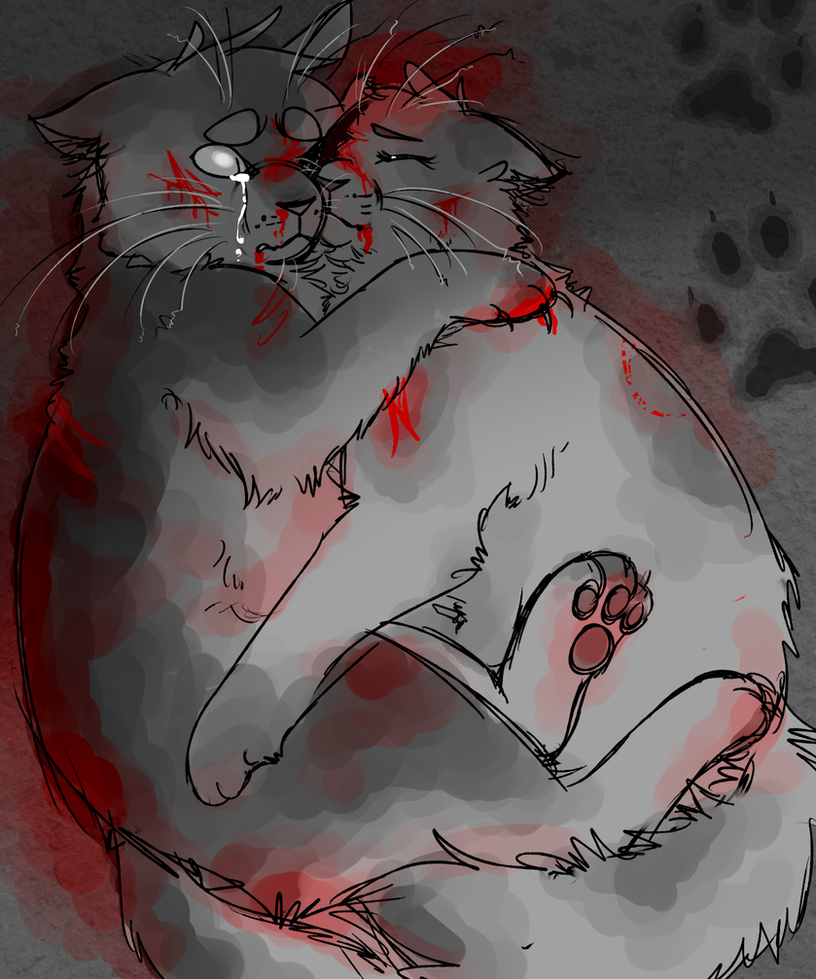 to die by your side [swiftpaw/brightpaw] by gamakichisora