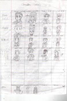 Jasonia: The Beginning Character Concept Art