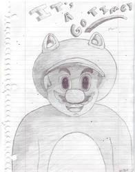 Tanookisuit Mario
