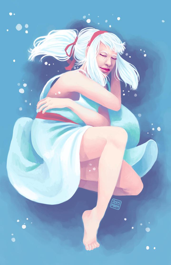 Snowy dream by catiniata