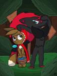 Caperucita eevee / little Red Riding Hood Eevee