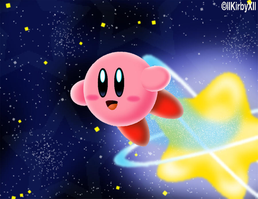 Super Kirby Galaxy by llKirbyXll