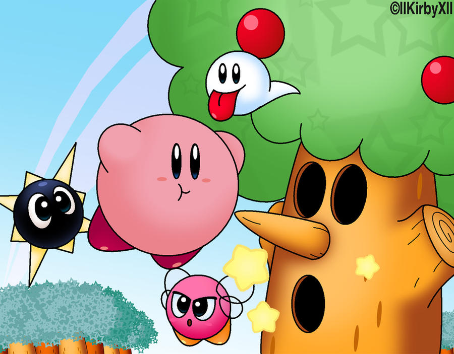 Kirby's Dreamland Cover REMAKE by llKirbyXll
