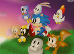Sonic's 'REAL' Friends