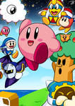 Kirby's Adventures in Dream Land Poster
