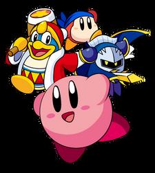 Kirby characters