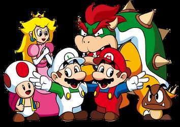 Super Mario Celebration Piece